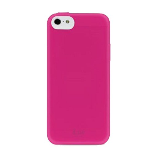 ILUV Gellato Case for Apple iPhone 5C [AILGELAPN] - Pink - Casing Handphone / Case